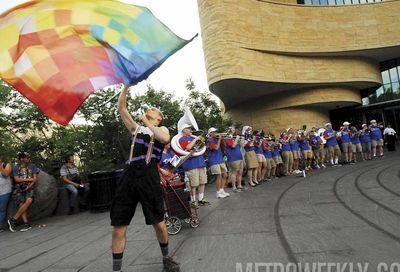 Gay Games rally #1