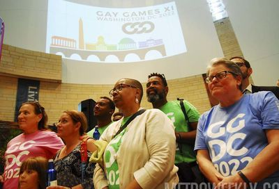 Gay Games rally #21