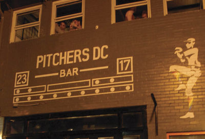 Pitchers DC's Really Hard Soft opening #1
